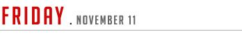 Friday November 11